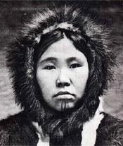 beautiful eskimo woman