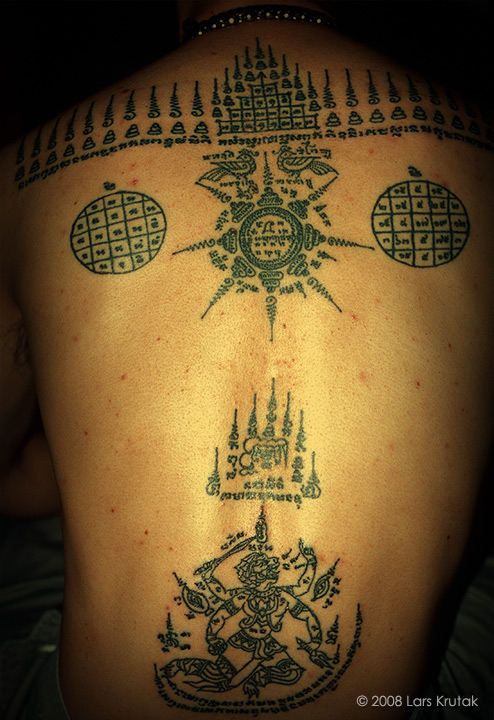 Magical Tattoos Of Thailand S Mahouts Elephant Trainers