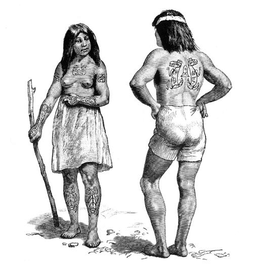 Crest Tattoos Of The Tlingit Haida Of The Northwest Coast Lars