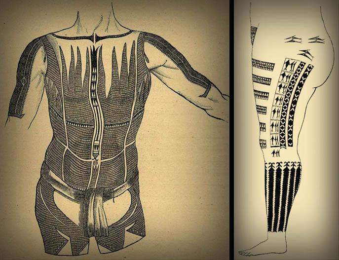 The Art Of Nature Tattoo History Of Western Oceania Lars Krutak