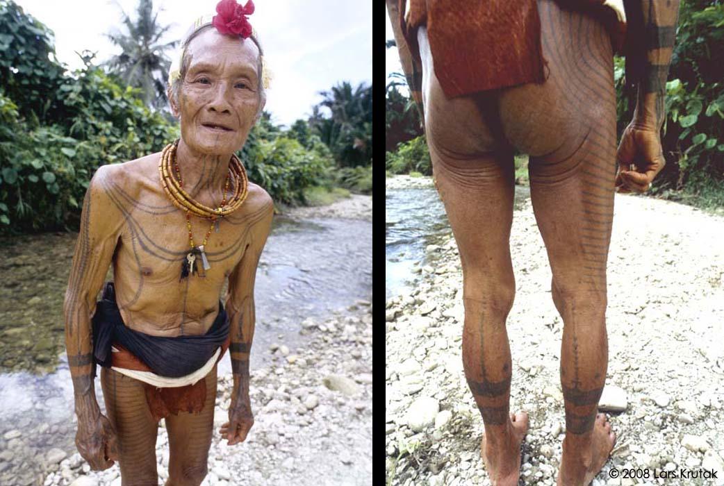 Mentawai tribe tattoos
