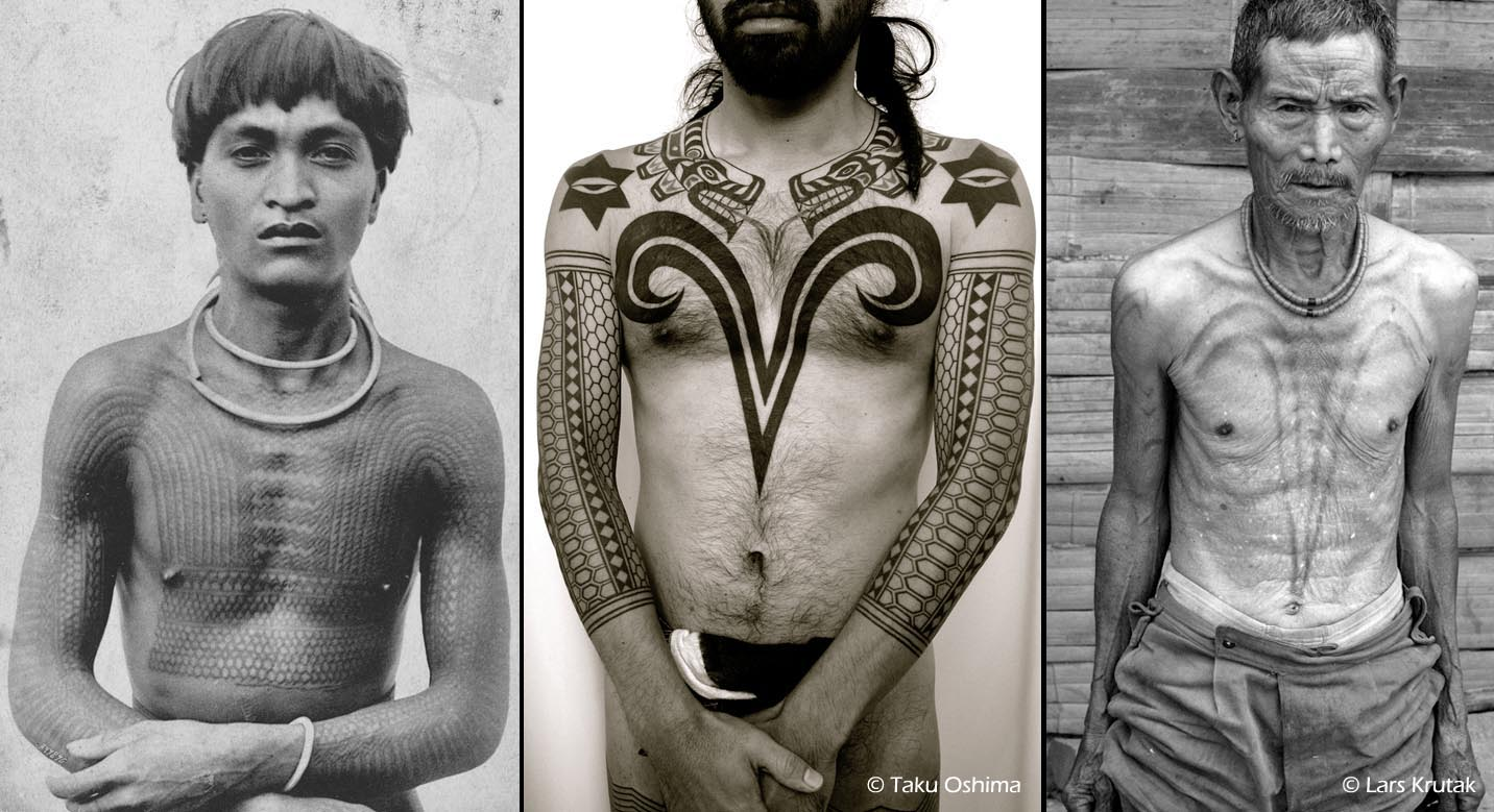 f39c47753 Kalinga, Northwest Coast, and Naga neo-tribal hybrid tattoo based on  historic and contemporary traditions. Once known as the fiercest  headhunting tribe in ...